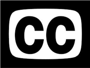 Closed captioning logo